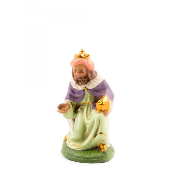 König braun (Melchior) kniend, zu 10cm Figuren