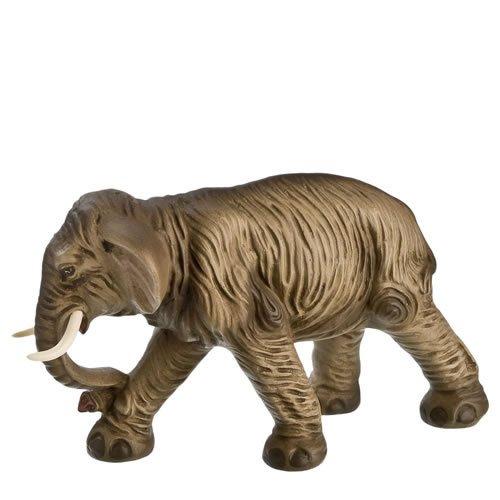 Elefant, zu 10cm Krippenfiguren - Original MAROLIN® - Krippenfigur für Ihre Weihnachtskrippe - Made in Germany