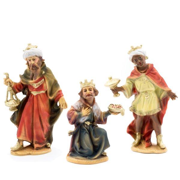 Three Magi, to 4.75 in. figures (plastic material)