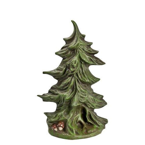 Breiter Tannenbusch, H=11,4cm, für 9 - 11cm Figuren - Original MAROLIN® - Zubehör für Modellbau oder Ihre Weihnachtskrippe - Made in Germany