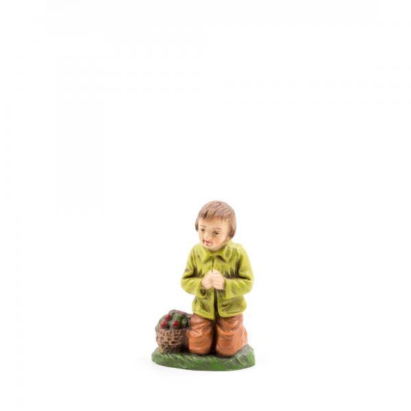 Hirtenknabe betend, zu 10 - 11cm Krippenfiguren - Original MAROLIN® - Krippenfigur für Ihre Weihnachtskrippe - Made in Germany