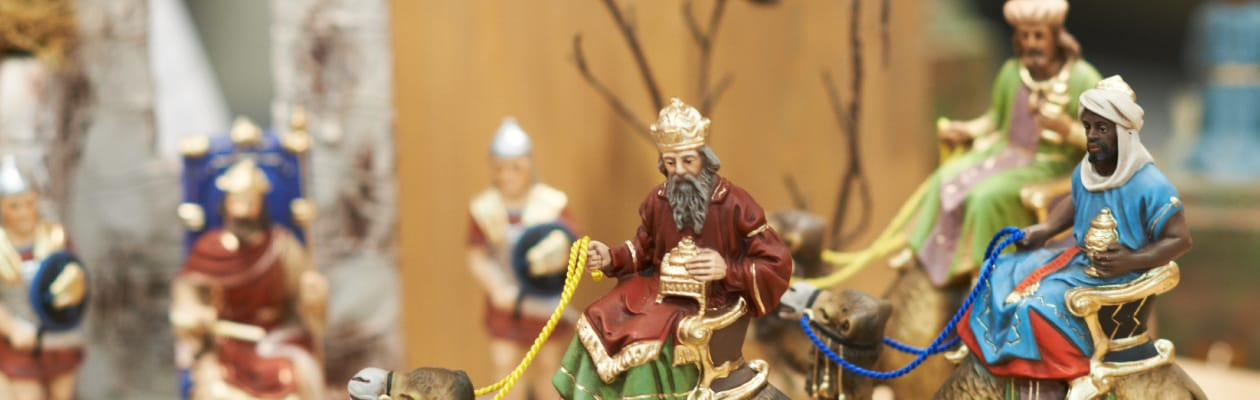 Nativity figures of the 4.75 inch size
