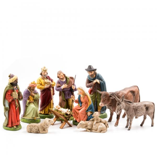 Nativity set, 11 figures, 5.75 inch size