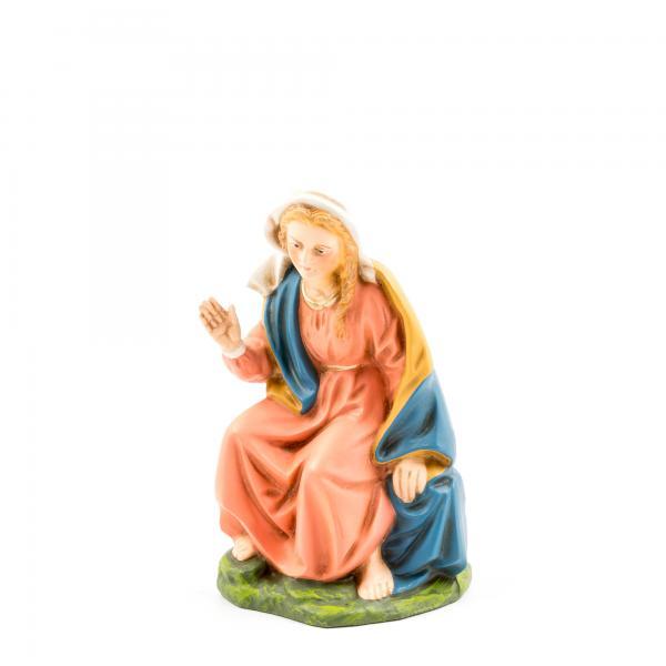 Maria sitzend, zu 14cm Figuren