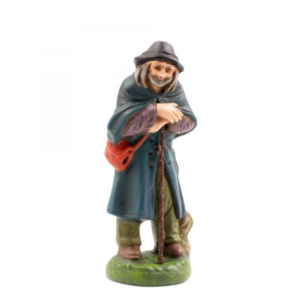 Schäfer, zu 10cm Krippenfiguren - Original MAROLIN® - Krippenfigur für Ihre Weihnachtskrippe - Made in Germany