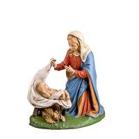 Maria mit Kind im Tuch, 2 Teile, zu 21 cm Figuren