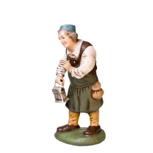 Wirt mit Laterne, zu 11cm Krippenfiguren - Original MAROLIN® - Krippenfigur für Ihre Weihnachtskrippe - Made in Germany