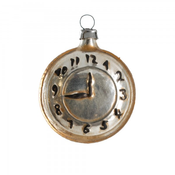 "Glass ornament ""Pocket Watch"""