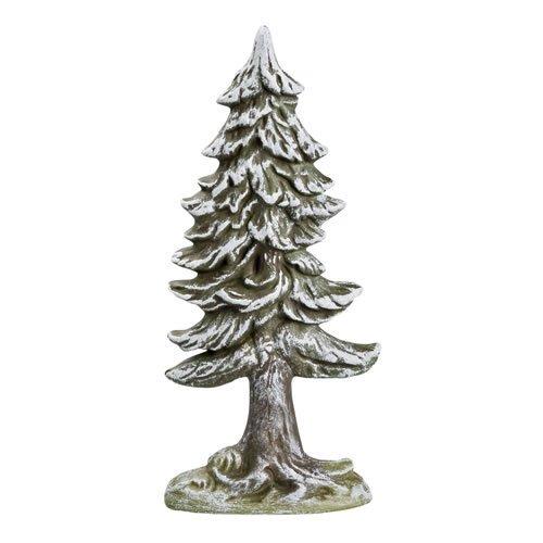 Große Tanne verschneit (Halbrelief), H=20cm, für 9 - 11cm Figuren - Original MAROLIN® - Zubehör für Modellbau oder Ihre Weihnachtskrippe - Made in Germany