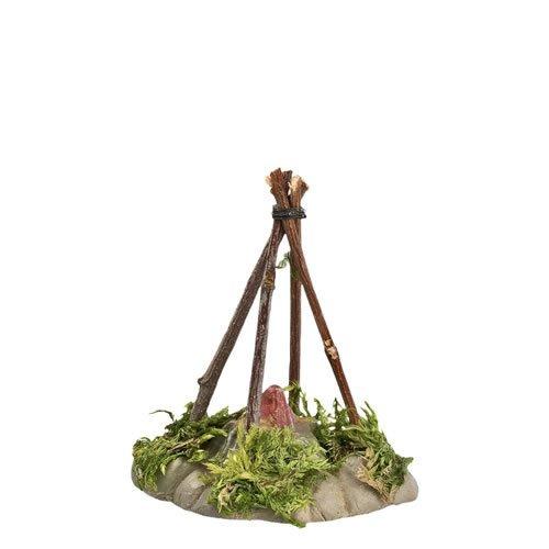 Hirtenfeuer 9cm Krippenfiguren - Original MAROLIN® - Krippenzubehör für Ihre Weihnachtskrippe - Made in Germany