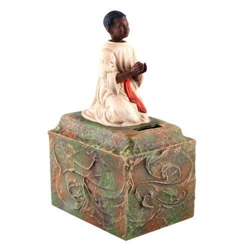 """Missionssammelbüchse """"Afrika"""", antikweiß - ein Artikel aus der Serie MAROLIN® -  Sammlerstücke. Made in Germany."""