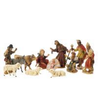 Nativity figurines, Set, Nativity Scene, resin, Nativity, Nativity play, handpainted, made in Germany