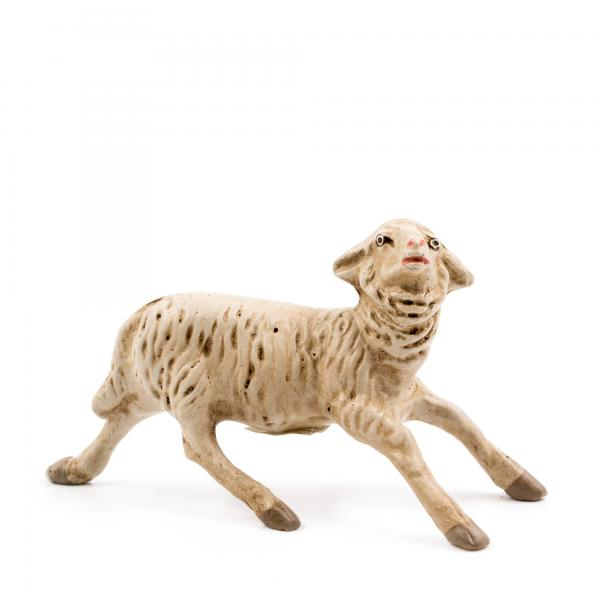 Schaf erschrocken, zu 11 - 12cm Figuren passend