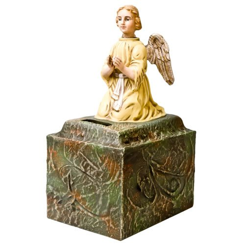 """Missionssammelbüchse """"Engel"""" - ein Artikel aus der Serie MAROLIN® -  Sammlerstücke. Made in Germany."""