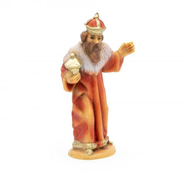 König weiß, stehend, 7cm, Kunststoff