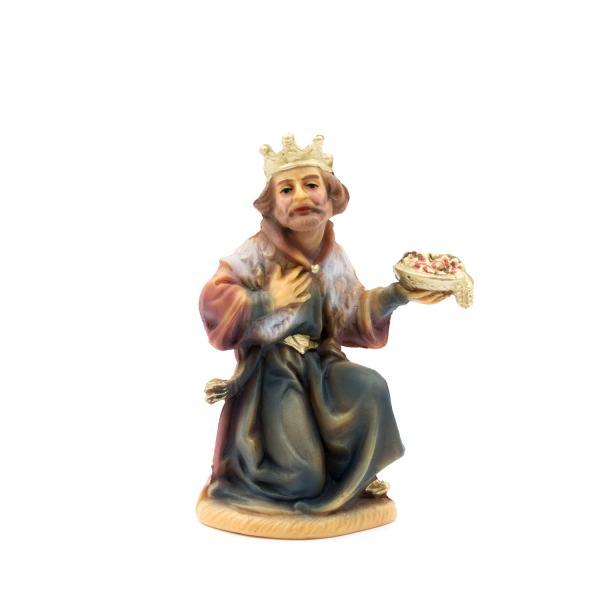 König braun, kniend, zu 12cm Fig. (Kunststoff)