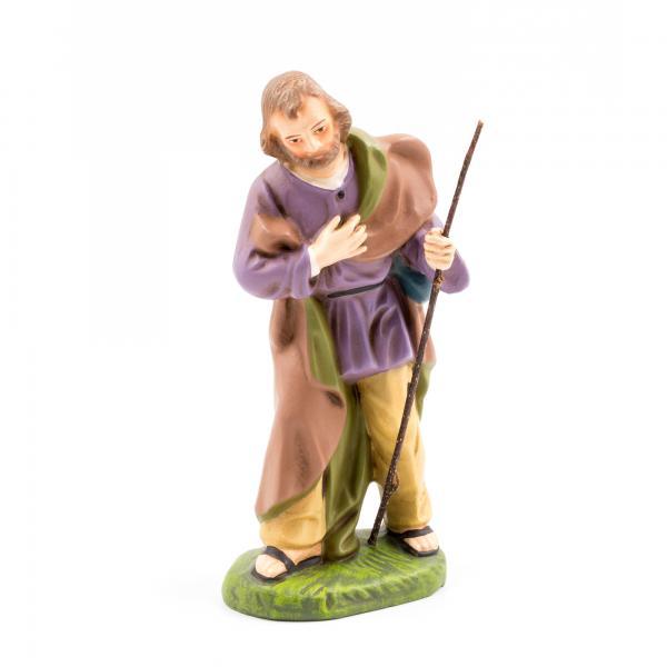 Josef stehend mit Stab, zu 14cm Figuren
