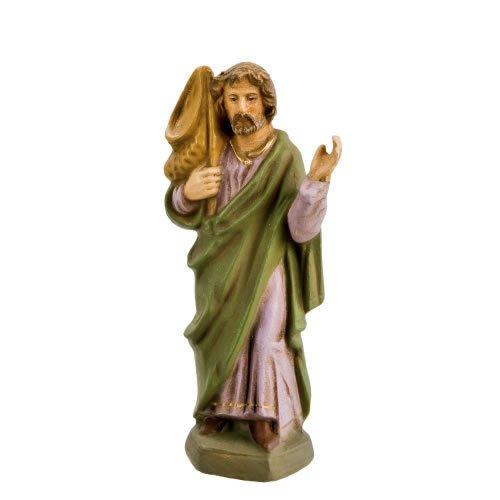 Andreas, zu 11cm Krippenfiguren - Original MAROLIN® - Figur für Ihre Krippe oder Weihnachtspyramide - Made in Germany