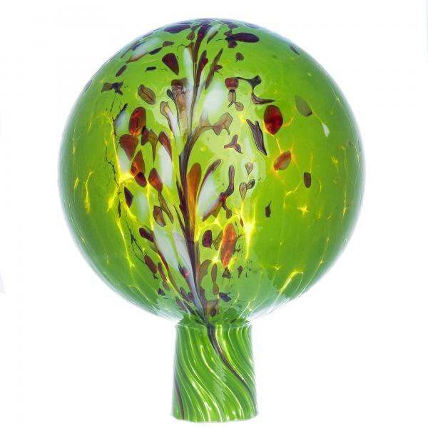 Rosenkugel für den Garten/Gartenkugel (15cm Durchmesser | grün)