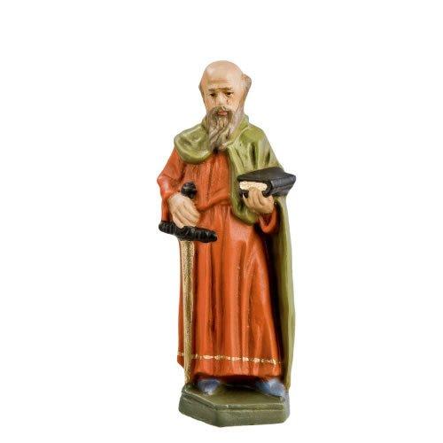 Paulus, zu 11cm Krippenfiguren - Original MAROLIN® - Figur für Ihre Krippe oder Weihnachtspyramide - Made in Germany