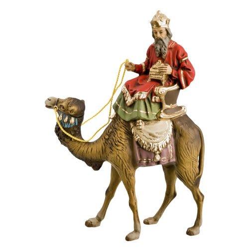 König weiß (Balthasar) zu Kamel, zu 12cm Figuren