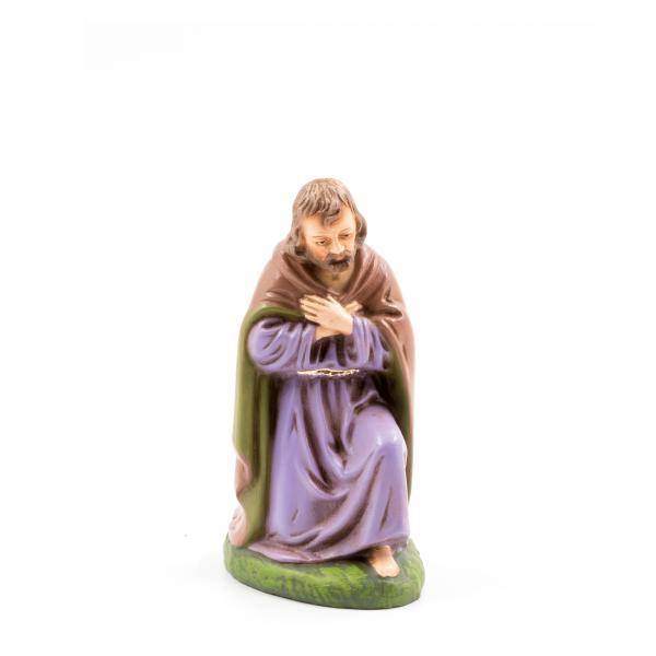 Josef kniend, zu 11cm Krippenfiguren - Original MAROLIN® - Krippenfigur für Ihre Weihnachtskrippe - Made in Germany