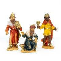 Heilige Drei Könige, zu 9cm Fig. (Kunststoff)