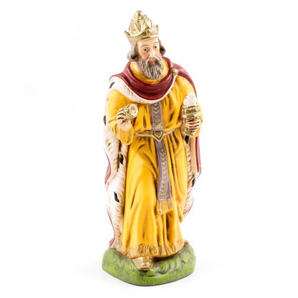 König weiß (Balthasar), zu 17cm Figuren
