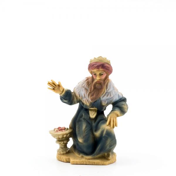König braun (kniend), zu 9cm Fig. (Kunststoff)