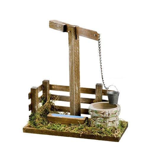 Brunnen mit Tränke für 14 - 17cm Figuren