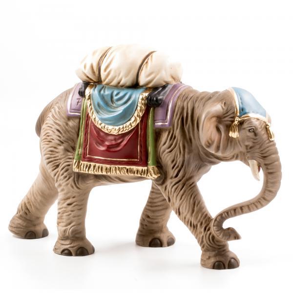 Elefant mit Gepäck, zu 17cm Figuren