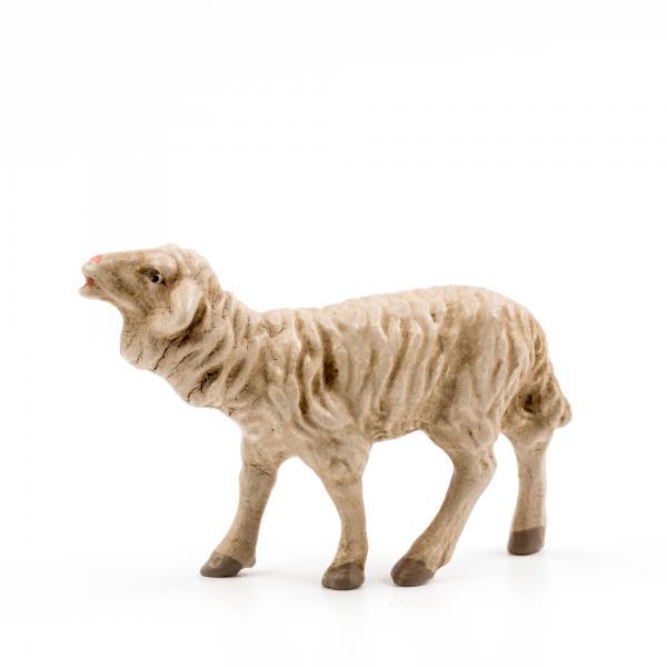 Schaf blökend, zu 10cm Krippenfiguren