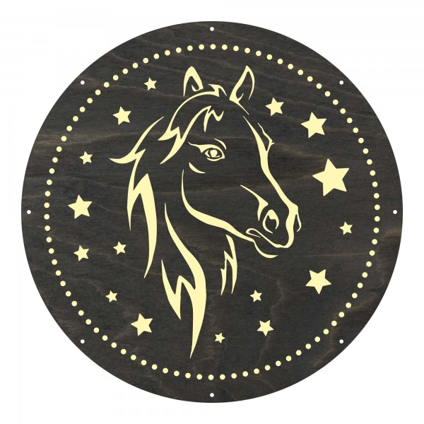 "Motivscheibe ""Pferd"" | Marolight"