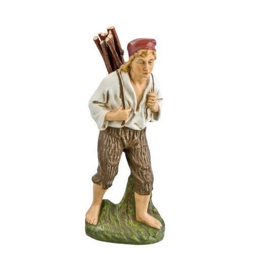Hirte mit Holzbündel, zu 17cm Figuren