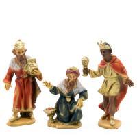 Three Wise Men, resin nativity figures