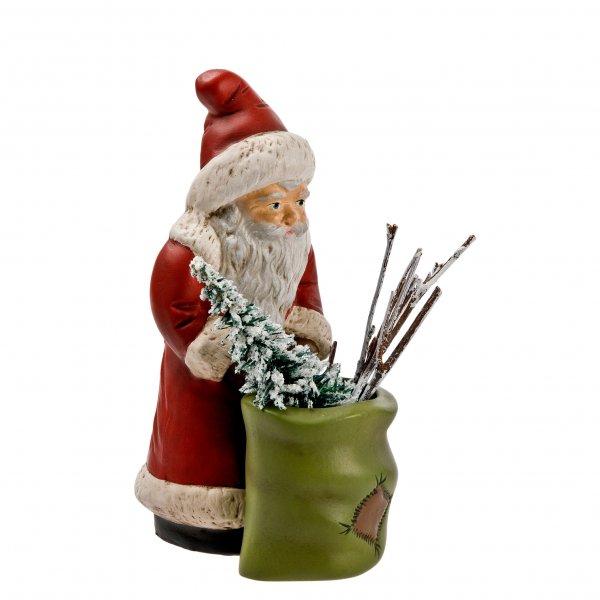 Weihnachtsmann mit Sack zum Füllen