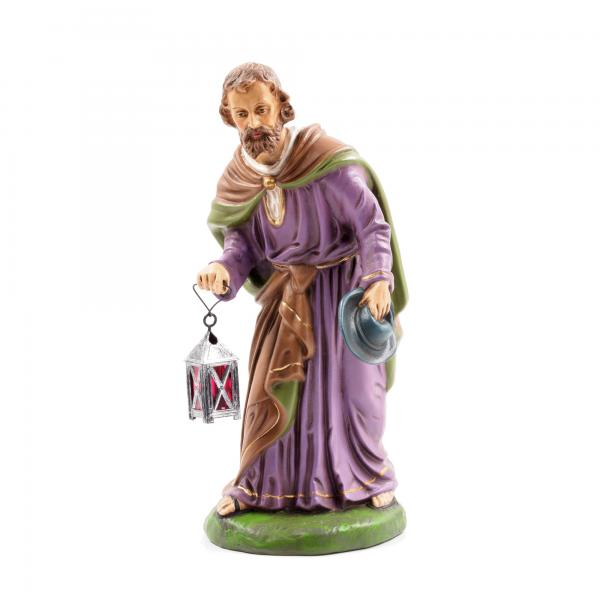 Standing Joseph with lantern, to 8.5 in. figures