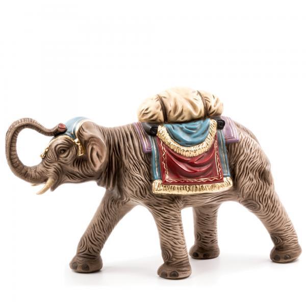 Elefant mit Gepäck, zu 21cm Figuren