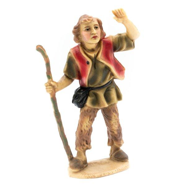 Hirte spähend, zu 12cm Krippenfiguren (Kunststoff)