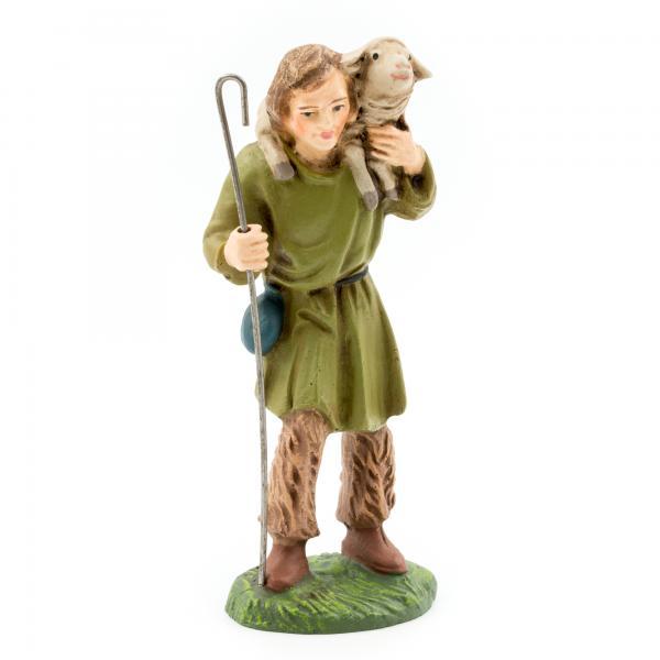 Hirte mit Schaf auf Schulter, zu 9cm Figuren