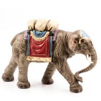 Elefant mit Gepäck, zu 12 - 14cm Figuren
