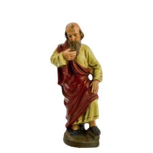 Jakobus d. Ä., zu 11cm Krippenfiguren - Original MAROLIN® - Figur für Ihre Krippe oder Weihnachtspyramide - Made in Germany