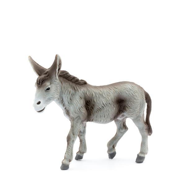 Esel stehend, zu 12cm Fig. (Kunststoff)