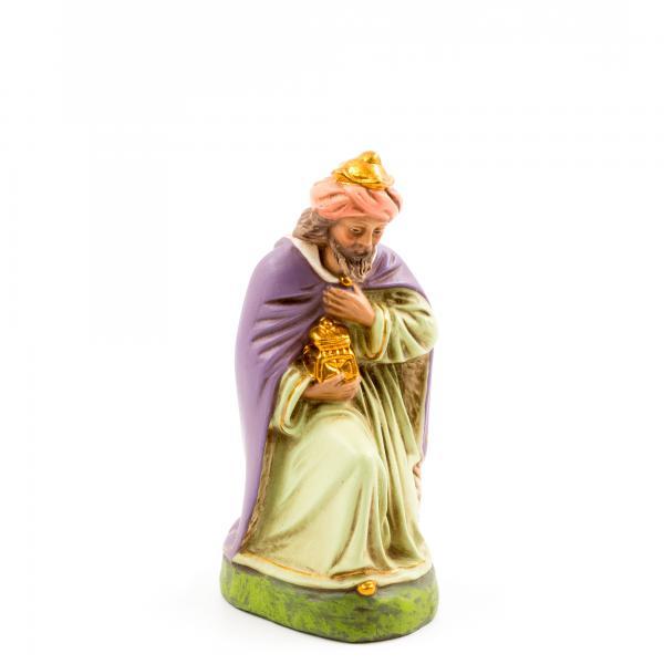 König braun (Melchior) kniend, zu 14cm Figuren