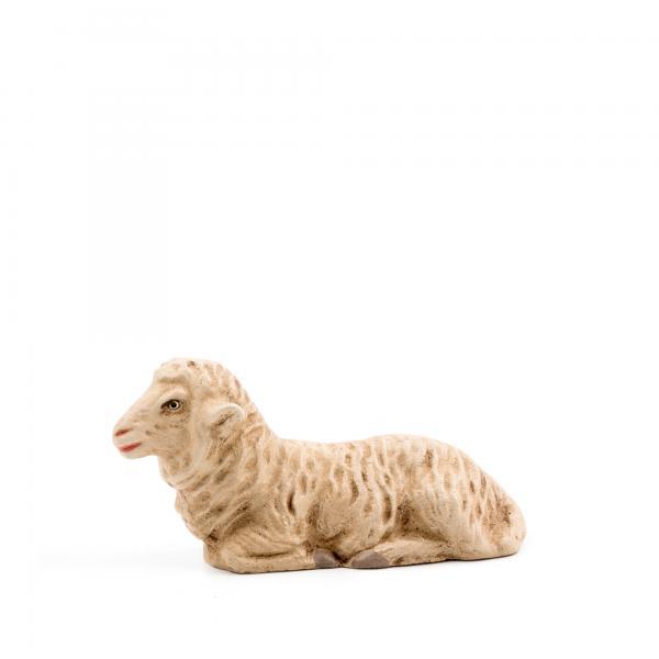 Schaf liegend, zu 11 - 12cm Figuren