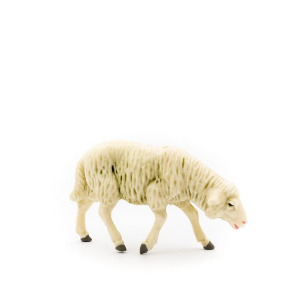 Grazing sheep, to 4.75 in. figures (plastic material)