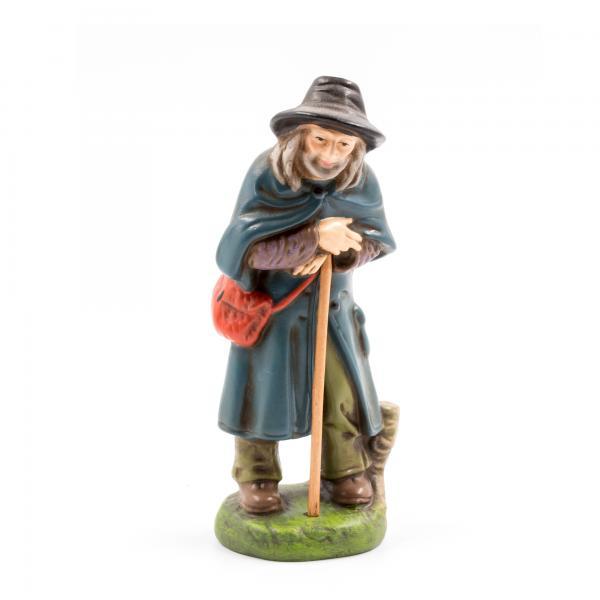 Schäfer, zu 11cm Krippenfiguren - Original MAROLIN® - Krippenfigur für Ihre Weihnachtskrippe - Made in Germany