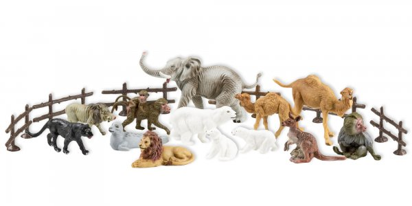"Play figures set ""Wild animals"""