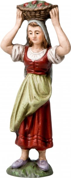 Landfrau, zu 9cm Figuren