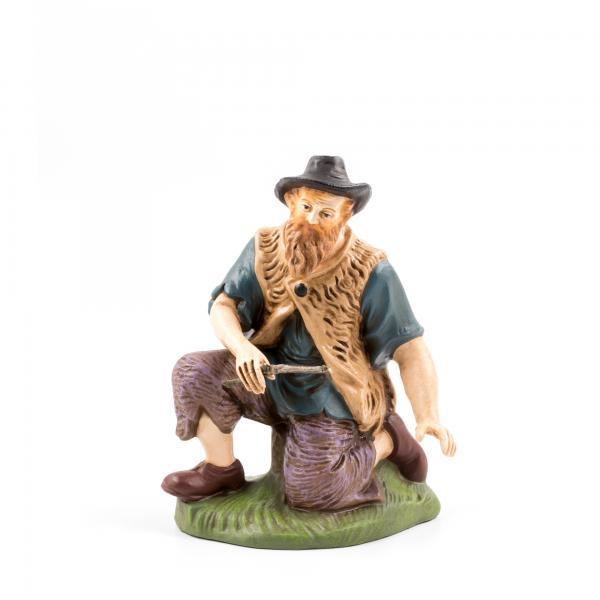 Hirte kniend mit Holz, zu 17cm Figuren
